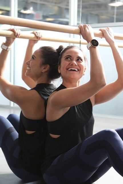 """Pure Barre teacher and Fossil employee Marissa Driscoll's number one health tip? """"Do what you can! If eating clean and working out 7 days a week seems unfeasible to you, that's OK. Do what YOU can, not what the person next to you is doing. """""""
