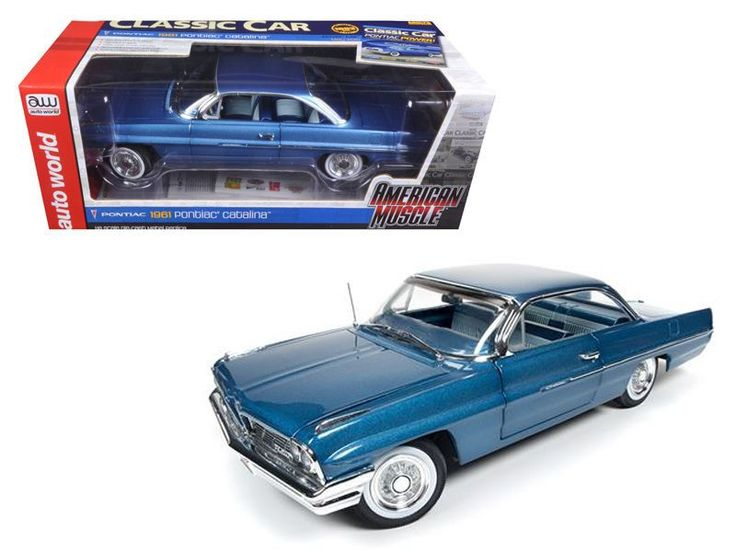 61 Pontiac Catalina Hardtop Bristol Blue Hemmings Muscle Magazine Only 1002 Made
