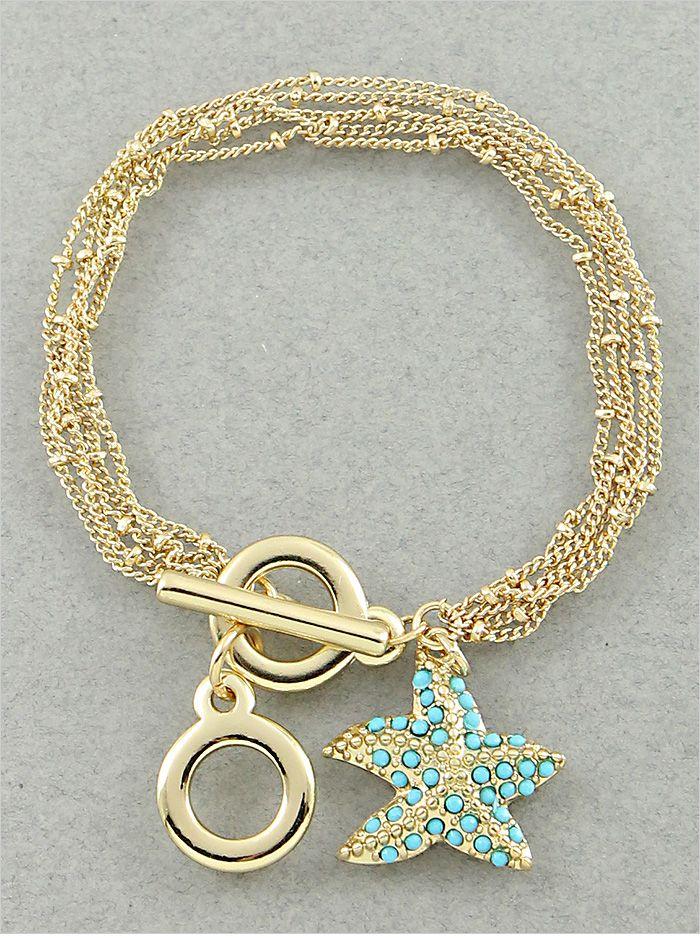 Turquoise Estrellita de Mar Bracelet
