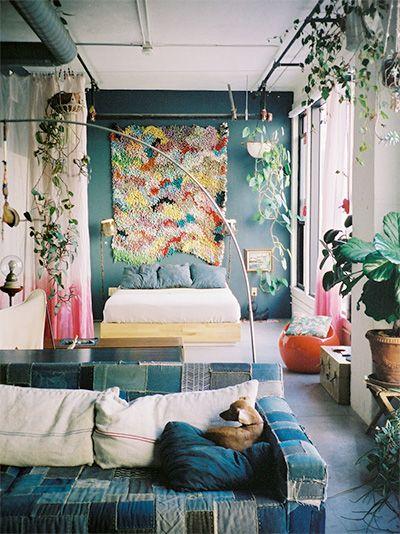 adam pogue's dream house. Via Frankish magazine . I love these colours :) #sweetfolk
