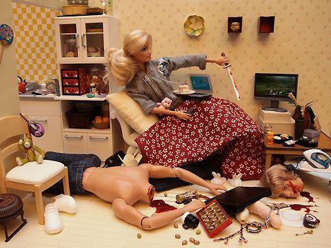 Bad, bad Barbie.