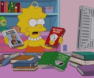 The Lisa Simpson Book Club | via Tumblr
