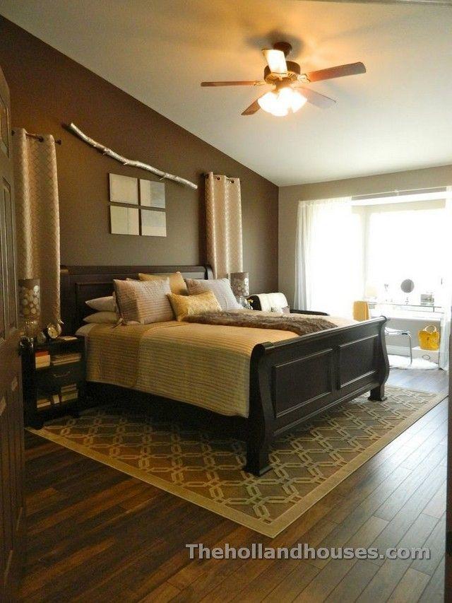 Area Rugs On Hardwood Floors Decorating Home Decor Design Di 2018 Pinterest Bedroom Master Dan