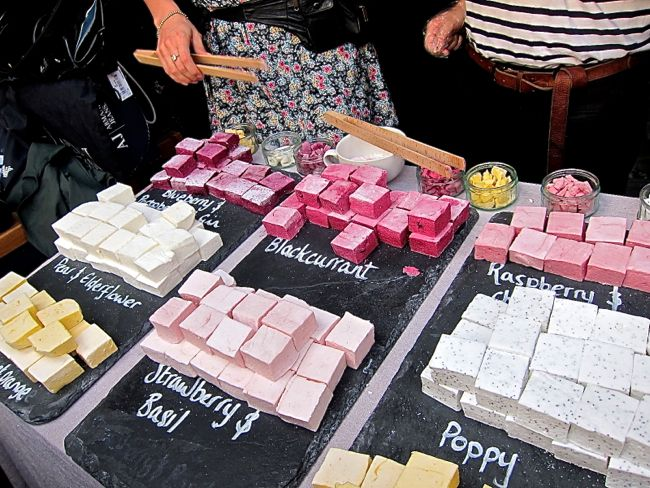 Gourmet Marshmallows from London.