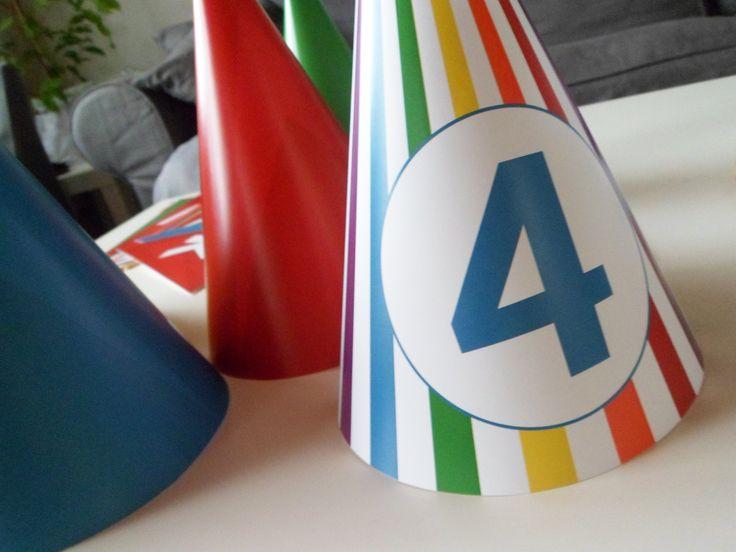 Color Birthday Party for Two Child | Barevná oslava narozenin pro dvě děti