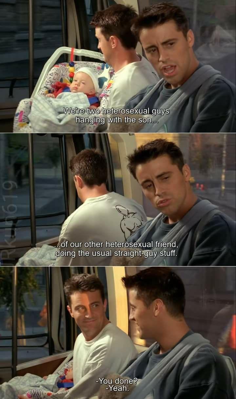 Chandler and Joey   ! bromance  ! | friends | Friends
