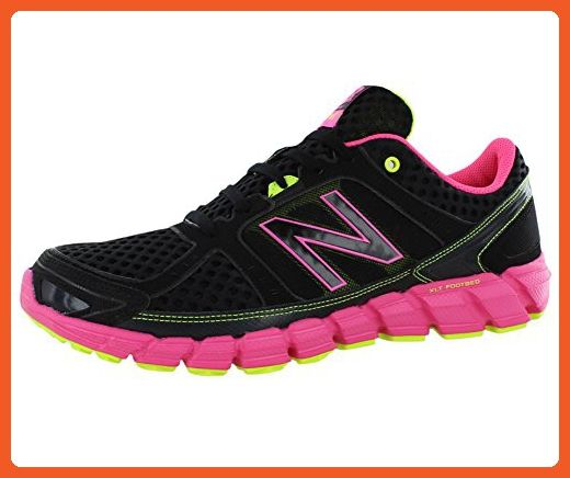 New Balance Women's W750 Athletic Running Shoe,Black/Pink,9 D US - Athletic shoes for women (*Amazon Partner-Link)