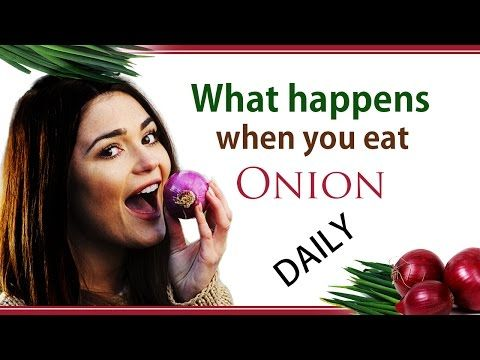 What happens when you eat #onion #DAILY! - YouTube #onionbenefits