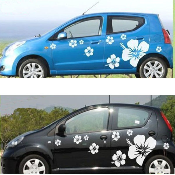 Best Flowers Designs Images On Pinterest Car Stickers Car - Cool car decals designcar styling dream racing design cool car refit vinyl stickers and