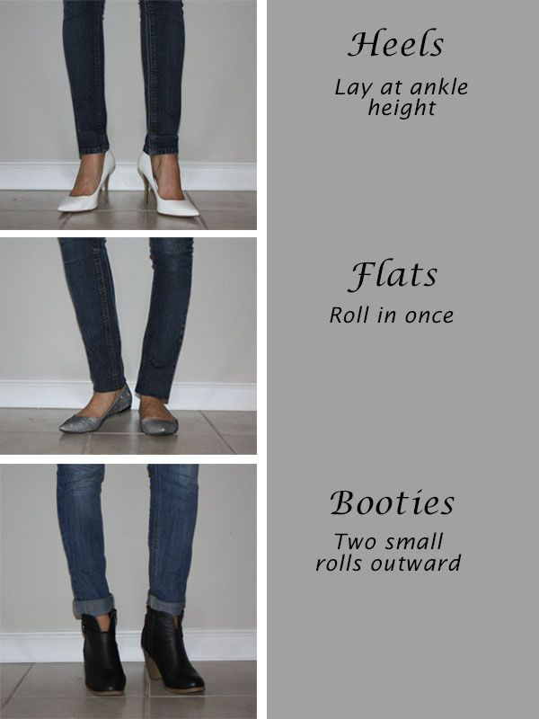 How to wear skinny jeans with different types of shoes #stylingtip