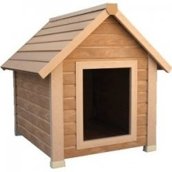 If you have a large dog, you're going to need a large dog house. Take it from us, two large dogs, comfort and protection are necessary. We live...