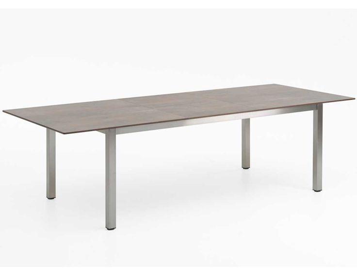 Awesome Niehoff Ausziehtisch Nele High Pressure Laminate Grau Braun kaufen im borono Online Shop