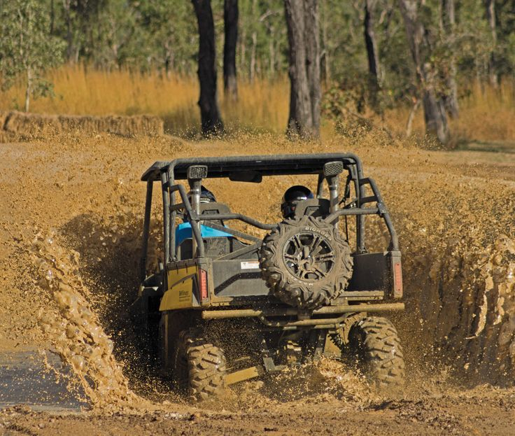 Mini 4WD Half Day Action Tour - 12pm to 4pm Session