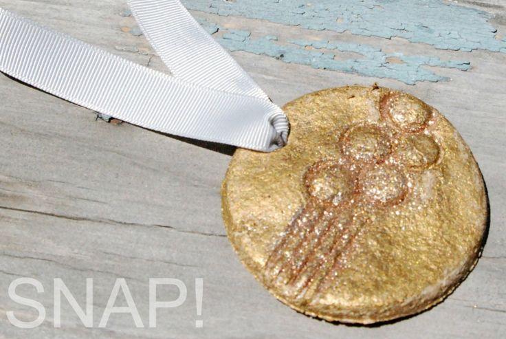 Salt Dough Recipe for Olympic Medels