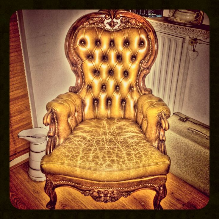 Stoel#troon#barok#vintage# mijn nieuwste aanwinst
