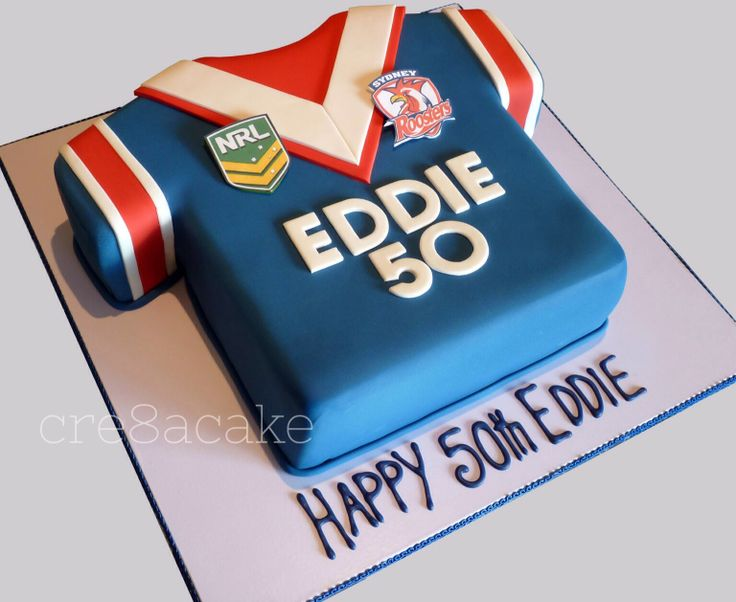 Cake Decorating Penrith : Roosters Jersey Cake My Sisters Cakes Pinterest ...