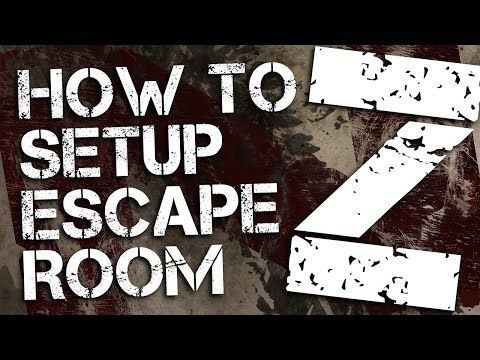 Escape Room Z | Printable Party Kit | Can you escape?