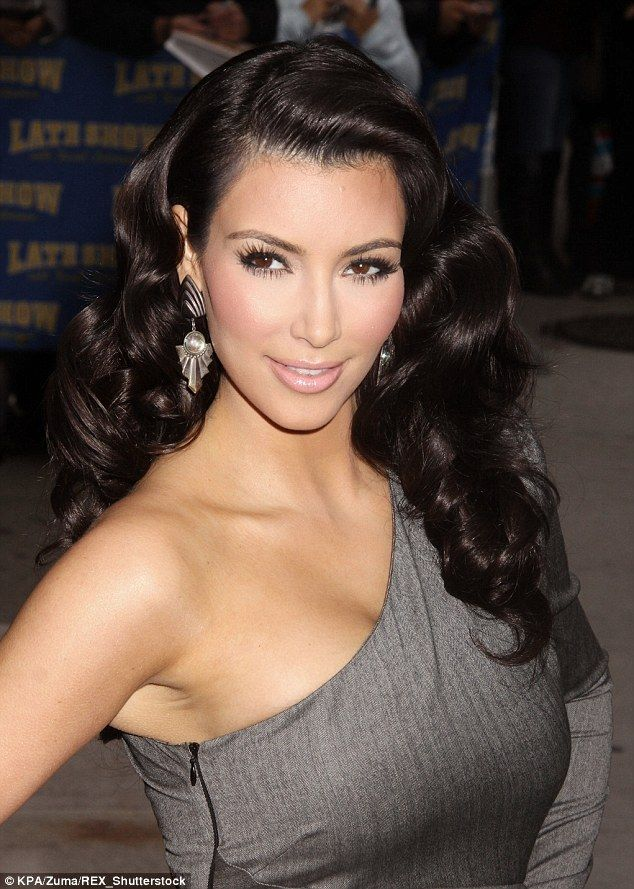 Glamming it up: Taken in 2009, the reality star wore atight one shouldered, one sleeved, grey dress that highlighted her farm which she believes was much skinnier