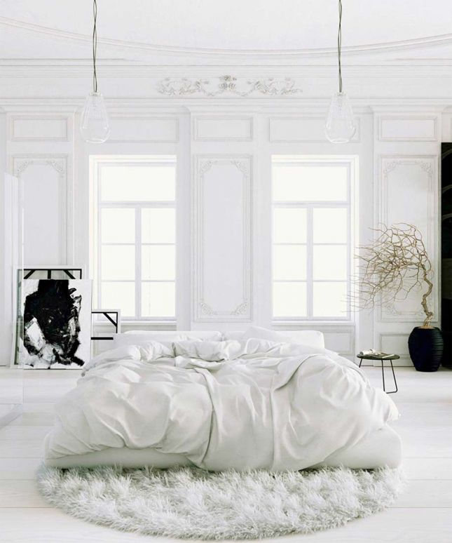 Goodbye Color 25 Fabulous All White Rooms