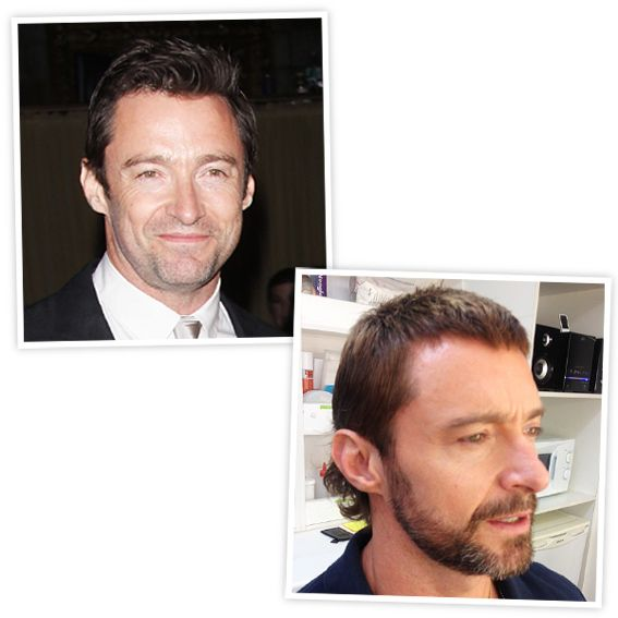 Hugh Jackman Haircut: 46 Best Images About Celebrity Make Overs On Pinterest