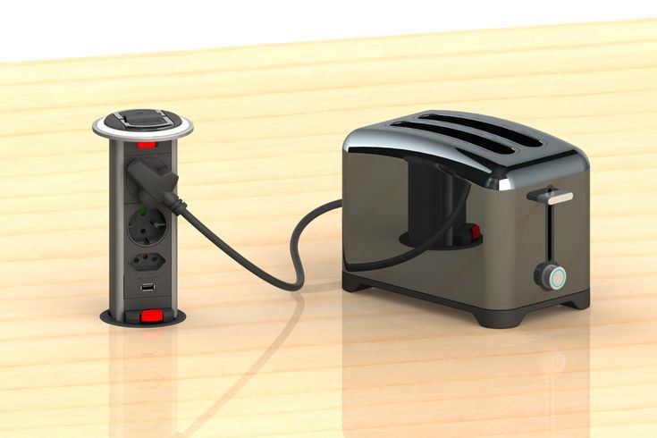 The new #Powerdock Mk1.1C. Ideal power outlet solution for your kitchen.  Contact your closest distributor to get your own PDO Mk1.1C #PowerOuteltSoultion #KitchenPower