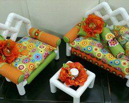 American Girl Doll pvc furniture! So Cute!!