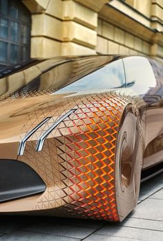 The design of the BMW Vision vehicle is characterized by a mixture of …   – Design
