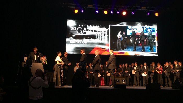 Munaxille maakunnallinen yrittäjäpalkinto Varsinais-Suomen #yrittäjägaala2015
