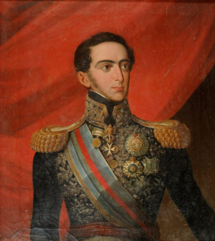 Dom Miguel I, O Rei Absoluto, (Queluz, 26 de outubro de 1802 – Carlsruhe, 14 de novembro de 1866), Reinou entre 1828 e 1834. Terceiro filho varão do rei D. João VI de Portugal e de D. Carlota Joaquina de Espanha e o irmão mais novo de Dom Pedro IV.