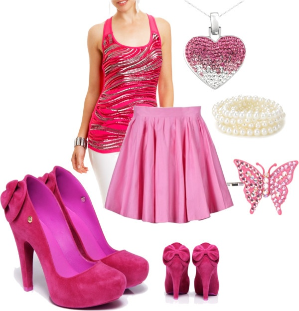 """""""Barbie Life in the Dreamhouse: Outfit One"""" by fashionandflames on Polyvore"""
