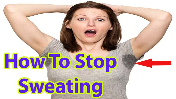 How to Stop Sweating Underarm Naturally | Home Remedy to Stop Sweating -...