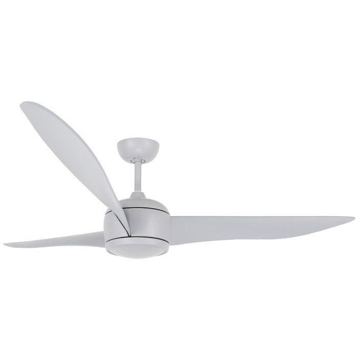 56 Dc Cathcart 3 Blade Ceiling Fan With Remote En 2020 Avec Images Ventilateur Plafond Incline Plafonnier Ventilateur