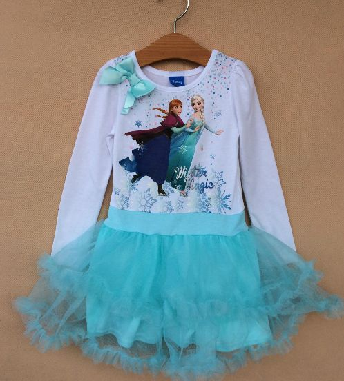 ELSA ANNA ICE SKATING DRESS Price: $29.99, Free Shipping Options: 2T, 3T, 4T, 5, 6, 6X click picture to purchase