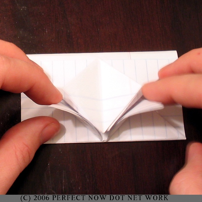 Envelope Folds An envelope fold is when you take paper and fold it into an envelope. This is exactly what people did before envelopes were commercially available. Back then, people would write a letter, fold it into the shape of an envelope, and send it. The letter and the envelope was one and the same.