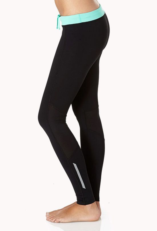 Stock up on these basic Forever 21 Reflective Skinny Workout Leggings ($22); a slim fit and reflective detail make these leggings great for almost all your workouts.