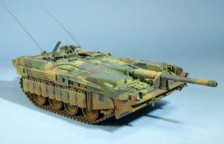 Stridsvagn 103 C Main Battle Tank (Sweden)