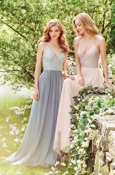 bridesmaid dress idea; featured photographer: Hayley Paige