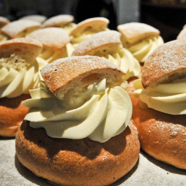 The semla – a small, wheat flour bun, flavoured with cardamom and filled with almond paste and whipped cream – has become something of a carb-packed icon in Sweden. The traditions of semla are rooted in fettisdag (Shrove Tuesday, or Fat Tuesday) when the buns were eaten at a last celebratory feast before the Christian fasting period of Lent.