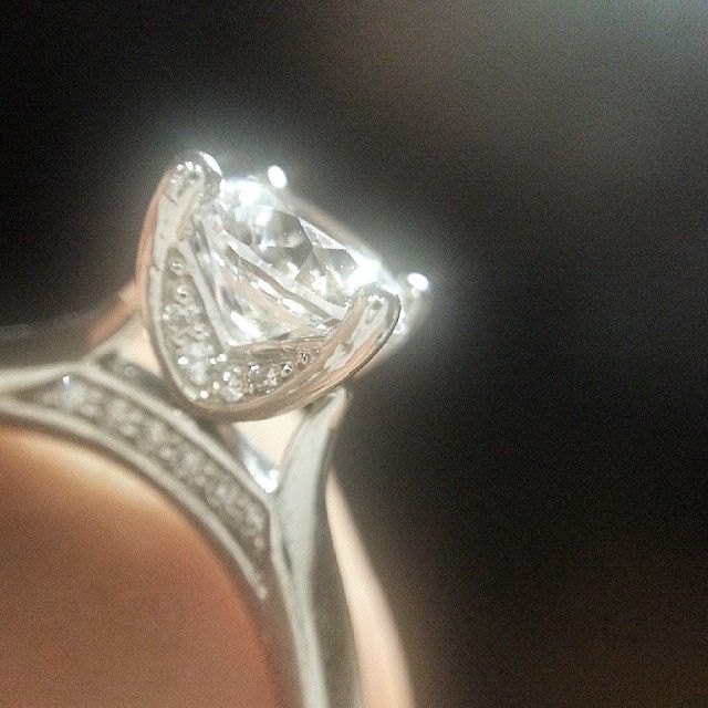 Diamond Engagement Ring #wedding #ring #engagement #반지 #예물 #프로포즈