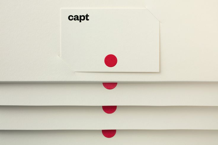 Red in Branding & Graphic Design: Capt by Bunch, United Kingdom