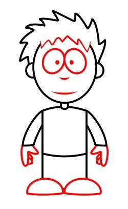 find this pin and more on homeschool ideas how to draw a simple cartoon boy - Simple Cartoon Pics