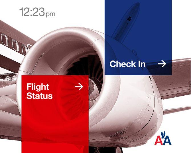 American Airlines Kiosk - John McHale