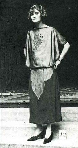 Платье «Иншалла». Поль Пуаре, 1923.