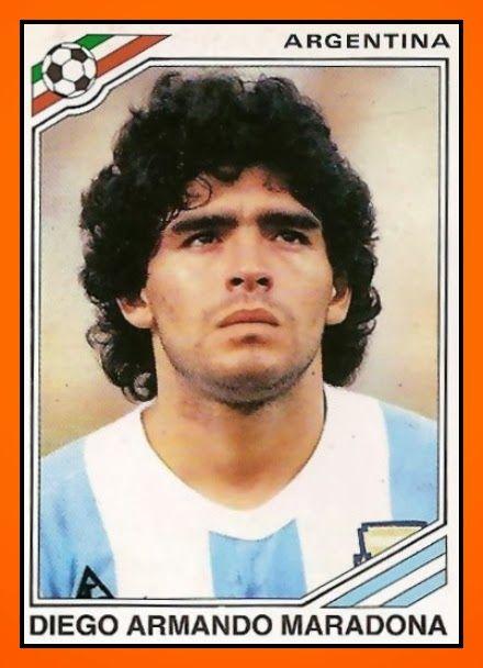 Diego Maradona in Mexico '86