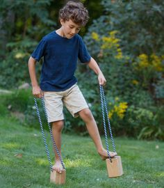 walking blocks - I remember having these as a kid (except mine were plastic) and I LOVED them!
