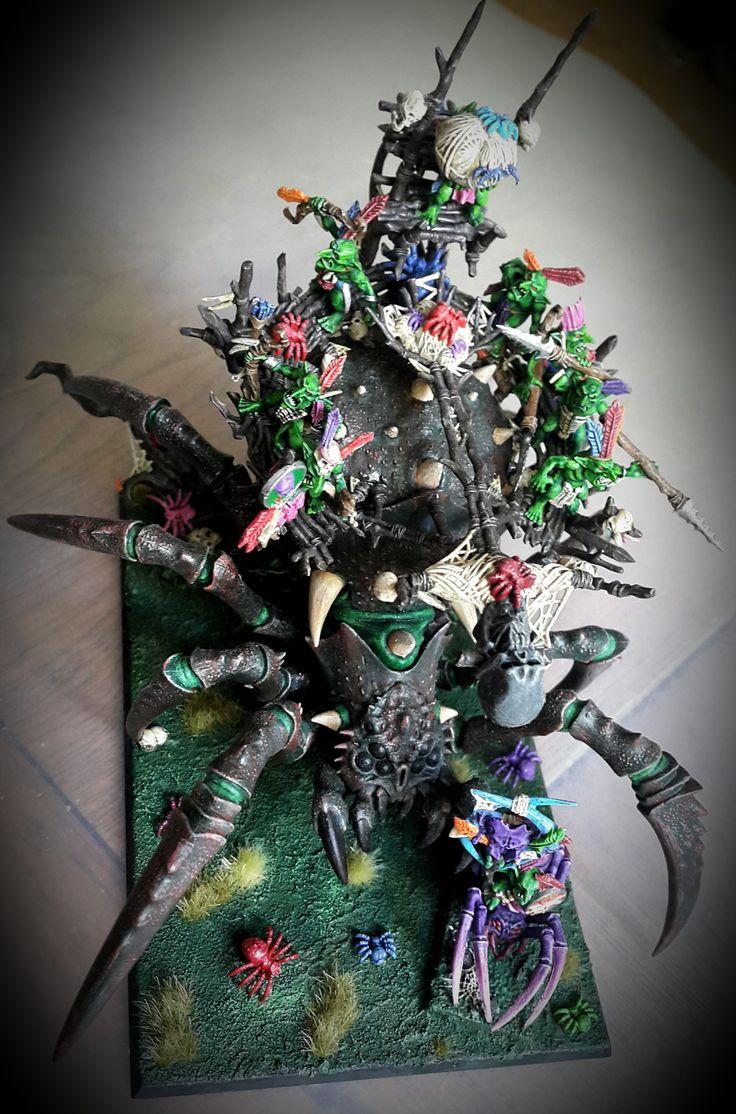 Arachnarok Spider Warhammer #PaintingWarhammer