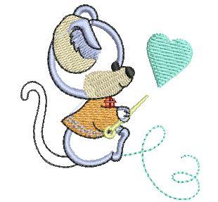 Bordados Descargar Gratis, 200,000 mil Diseños Bordados Descargar Gratis: Bordado de Animales