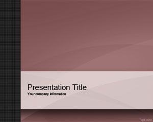 This free violet company PowerPoint template is a free simple PPT slide design design for multipurpose PowerPoint presentations