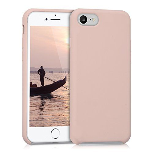 kwmobile Funda para Apple iPhone 7 / 8 - Case para móvil de TPU silicona - Cover trasero en rosa dorado mate #kwmobile #Funda #para #Apple #iPhone #Case #móvil #silicona #Cover #trasero #rosa #dorado #mate