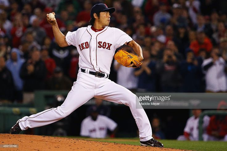 Koji Uehara of the Boston Red Sox pitches against the Washington... News Photo | Getty Images